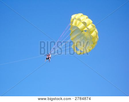 Parachute Over The Ocean