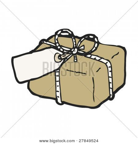drawing of a parcel