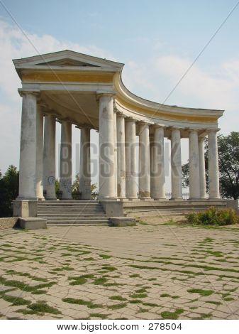 Colonnade. Odessa, Ukraine.
