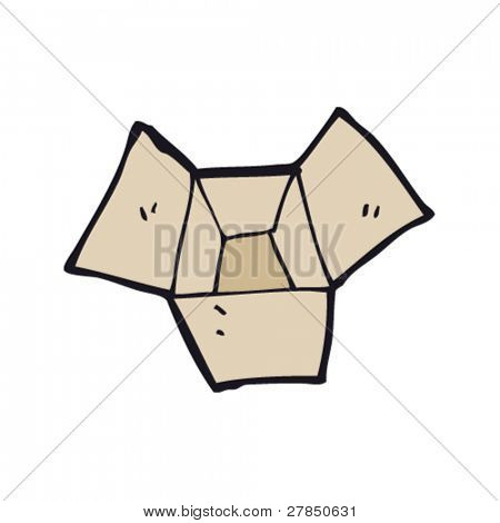 quirky drawing of an empty box