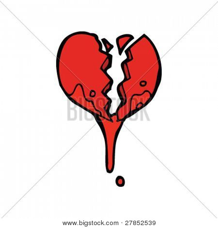 valentine broken heart