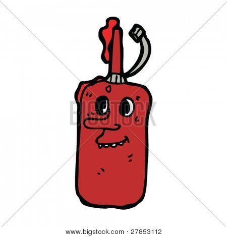 ketchup bottle cartoon