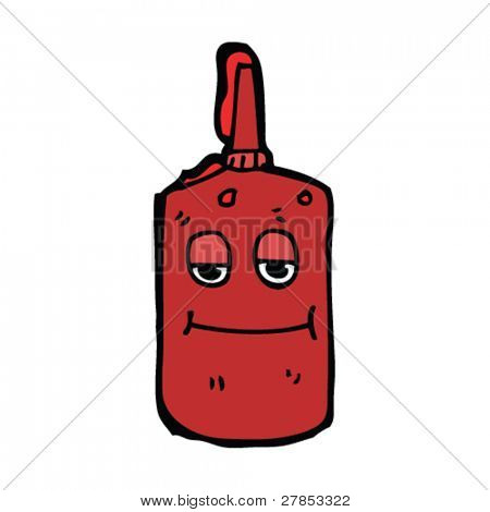 Ketchup cartoon