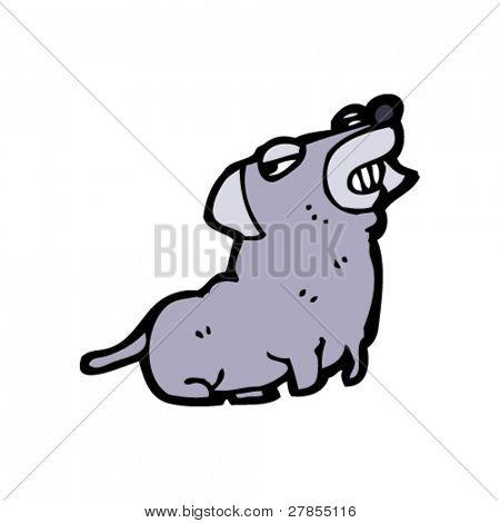 smug dog cartoon