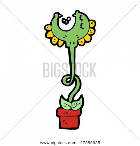 carnivorous plant cartoon