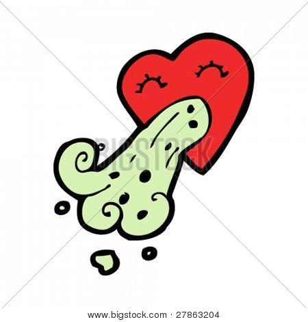 lovesick cartoon