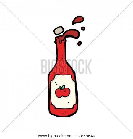tomato ketchup cartoon