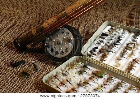 Vintage flyfishing