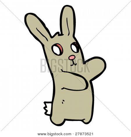 spooky rabbit cartoon