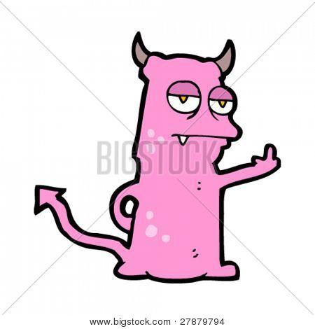 offensive little monster cartoon