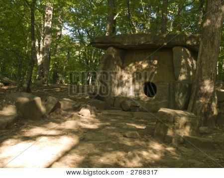 Dolmen At The Forest