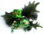 picture of christmas-present  - christmas holly - JPG
