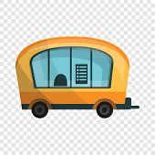 City Info Truck Icon. Cartoon Of City Info Truck Icon For Web Design For Web Design poster