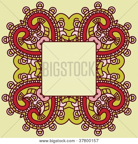 Vector decorative design element