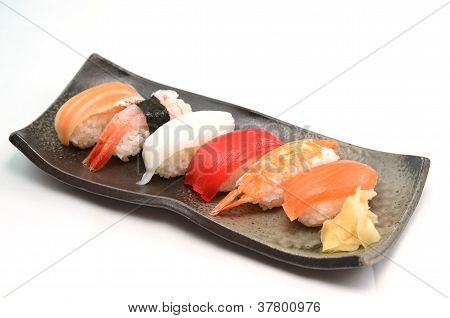 Sushi, Japanese traditional dishes