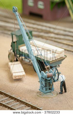 Model Crane