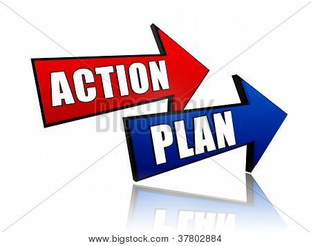 Action And Plan In Arrows
