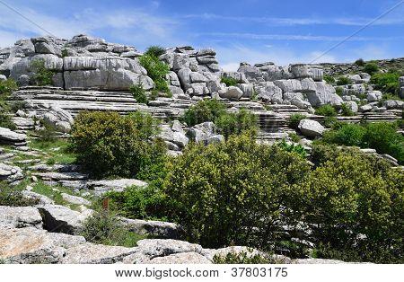 Impressive Karst Landscape.