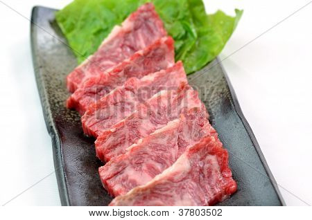 Yakiniku, japanische Rindfleisch