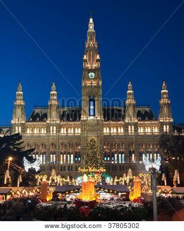 Weihnachtsmarkt in Wien, Österreich