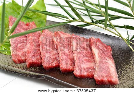 Yakiniku, Japanese beef