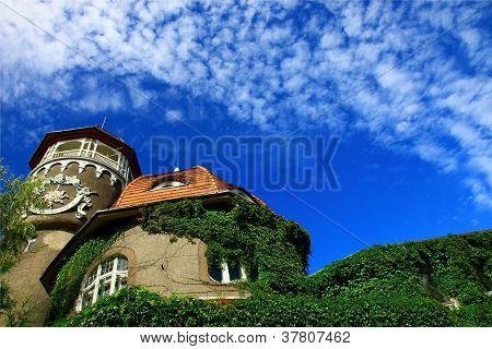 Old Water Tower. Svetlogorsk, Russia.