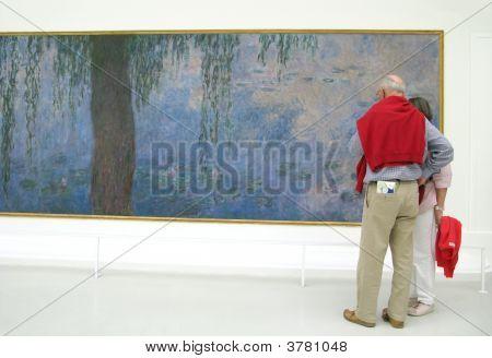 Admiring Fine Art