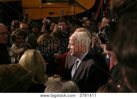 John Mccain In The Crowd