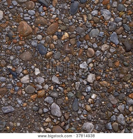 Pebble Or Gravel Texture Or Background