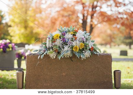 Colorful Tombstone Boquet