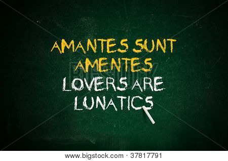 Lovers Are Lunatics
