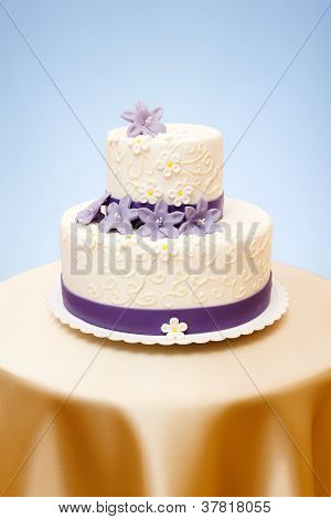 Two-storied Wedding Cake