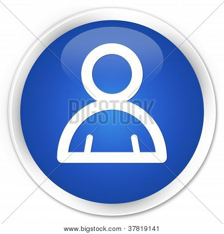 Member Icon Blue Button
