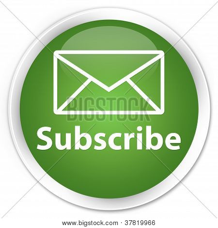 Subscribe Green Button