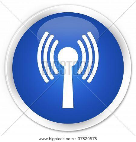 Wlan Network Blue Button