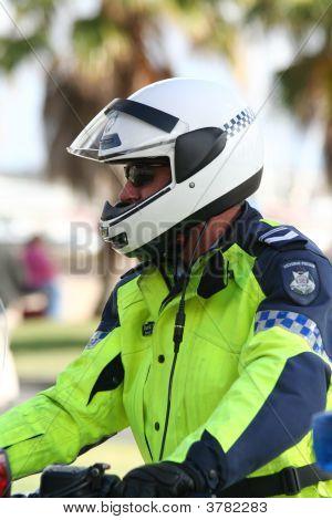 Biker-cop