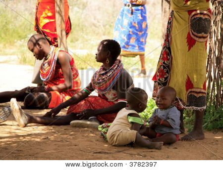 Samburu Children Playing