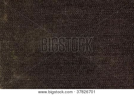 Black Denim Texture