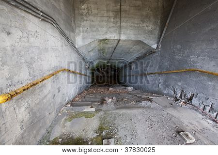 Old Abandoned Industrial Chute
