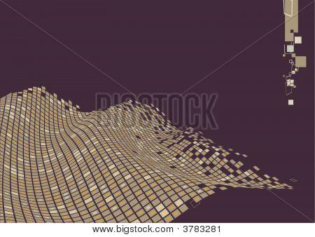 Bio Wave-Oberfläche