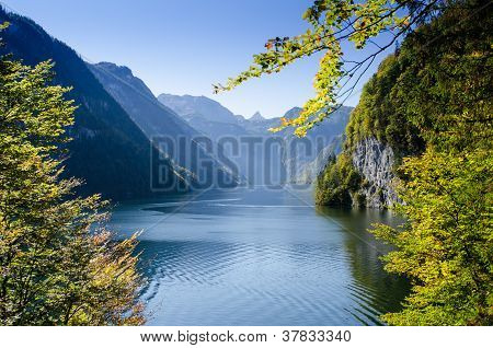 Knigssee From Malerwinkel