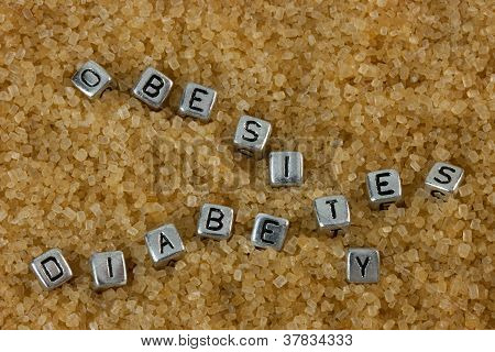 Obesity And Diabetes Concept