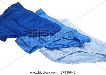 Blue Underpants