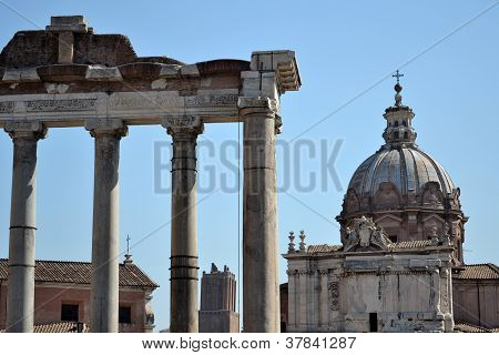 Santi Luca e Martina by Forum Romanum