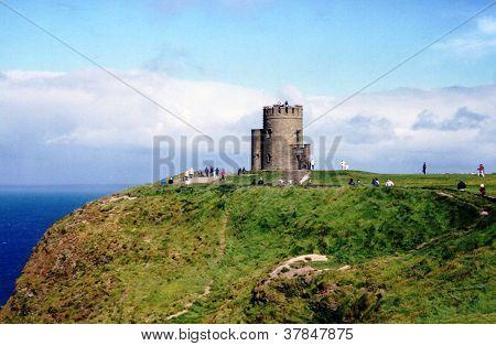 O'Brien die Burg Klippen von Moher