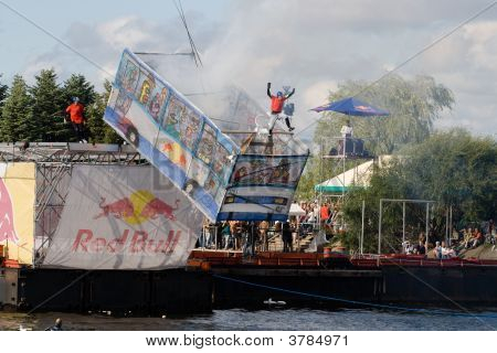 Flugtag Competition In Riga