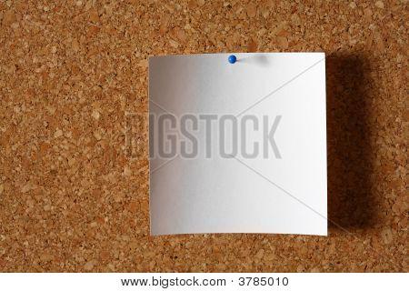 Blank White Note