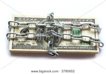 Geld in Kette