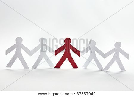 Cut Out Paper People