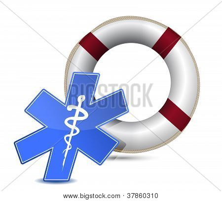 Sos Medical Wealth Illustration Design